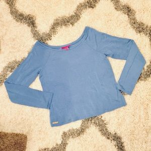 Lilly Pulitzer Knit Long Sleeve Top Size S